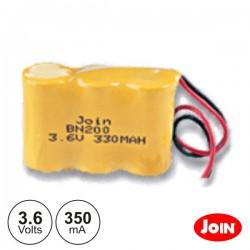 Bateria Ni-Cd 3.6V 300Ma Blister