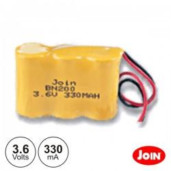 Bateria Ni-Cd 2/3AA 3.6V 330Ma