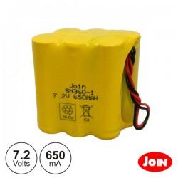 Bateria Ni-Cd AA 7.2V 650Ma