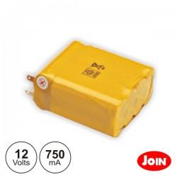 Bateria Ni-Cd AA 12V 750Ma