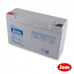 Bateria Chumbo 6V 12A Join