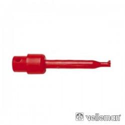 Pinça 40mm Vermelha Velleman