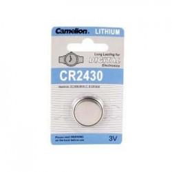Pilha Lithium Cr2430 3V 500Ma Camelion Blister
