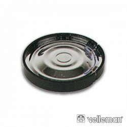 Altifalante Miniatura 0.15W 8 Ohm Dinâmico Compacto 80Db Velleman