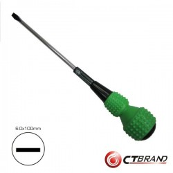 Chave de Fendas Ball-Head 6X100mm Ctbrand