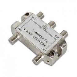 Repartidor c/ 4 Vias 5-2500Mhz