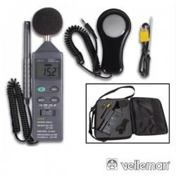 Multímetro Digital 4 Em 1 - 3 1/2 Velleman Db+Lux