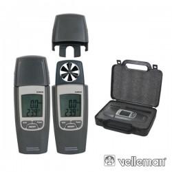 Termómetro/Anemómetro Digital Velleman