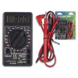 Multímetro 3½ Dígitos 20 Rangos 10A Testador de Transistores