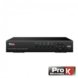 Vídeo-Gravador Digital 4 Canais Quad H264 Ethernet Prok