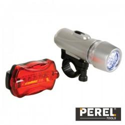 Conjunto Luzes de Segurança p/ Bicicleta Perel