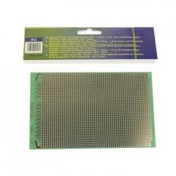 Placa Circuito Impresso Perfurada Em Linhas 100X160mm