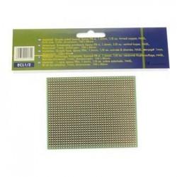 Placa Circuito Impresso Perfurada Em Linhas 100X80mm
