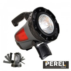 Lanterna 1 Led 1W c/Luz Emergência Recarregável Perel