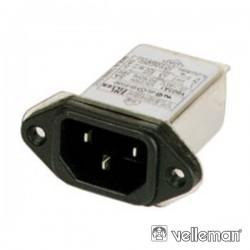 Filtro Emi/Emc 250V 6A Velleman