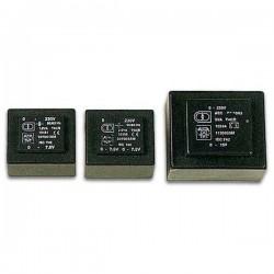 Transformador Encapsulado 230/12+12V 2X0.029A 0.7Va p/ Pcb