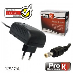 Alimentador Switching 12V 2A Prok