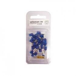 Terminal Azul 30X 2.50mm² Blister