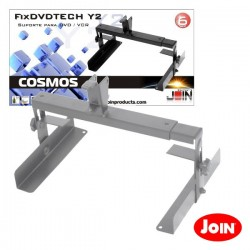 Suporte Dvd 400mmx120mm p/Fixtech Cinzento Join