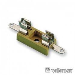 Suporte Fusíveis 5X20mm Velleman