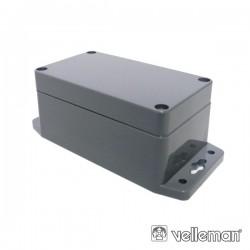 Caixa Selada Abs Cinza Escuro 115X65X40mm