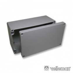 Caixa Estanque Abs Cinza Escuro 115X65X55mm