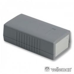 Caixa Abs Cinza Escuro 120X60X40mm
