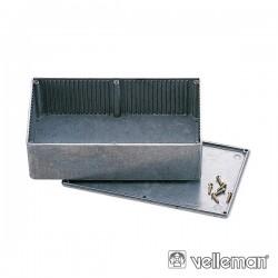 Caixa Abs Cinza Escuro 190X100X60mm