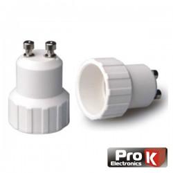 Casquilho Adaptador de Gu10 p/ E14 Prok