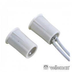 Contacto Magnético 0.5A 100V Dc Norm Fechado c/ Cabo 25cm