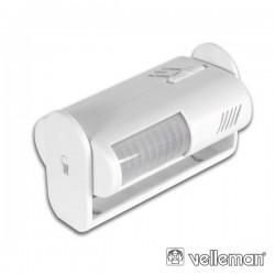 Detector de Movimentos Mini c/ Alarme Velleman