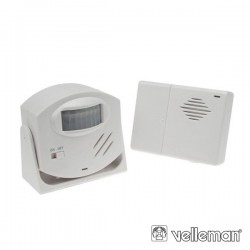 Alarme c/ Sensor Movimentos Pir Velleman