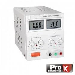 Fonte de Alimentação Digital 0-30V / 0-5A Prok