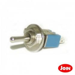 Interruptor Alavanca Unipolar c/ Auto-Retorno 10A-250V
