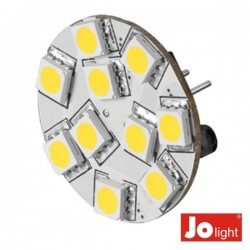 Lâmpada G4 2.2W 12V 10 Leds Branco Frio Jolight