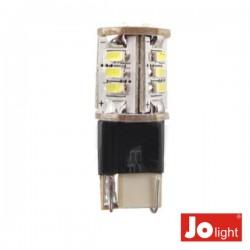 Lâmpada T10 18 Leds Branco Frio 0.5W 10-30Vdc