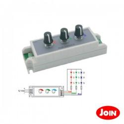 Controlador p/ Fita Leds Rgb c/ Potenciómetro