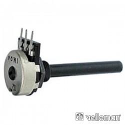 Potenciómetro Linear 100K Metalico