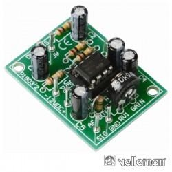 Kit Pré-Amplificador Universal Mono Velleman