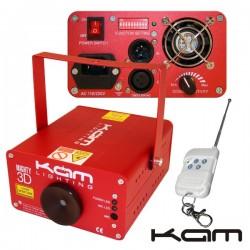 Laser 150Mw Vermelho/Verde Dmx c/ Comando Kam
