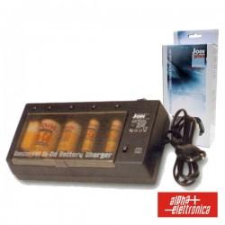 Carregador de Baterias Universal AA-AAA-C-D 230V