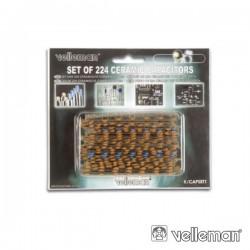 Conjunto de 224 Condensadores Cerâmicos