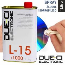 Líquido Álcool Isopropilico 1 Litro Due-Ci