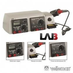 Unidade Laboratório 3 Em 1 Velleman
