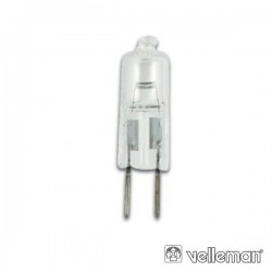 Lâmpada Halogénio G6.35 50W/230V Velleman
