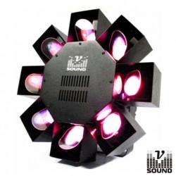 Projector Luz Com Efeitos 180 Leds Eight Fish Vsound