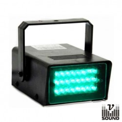 Estroboscópio c/ 24 Leds 5mm Verde Vsound
