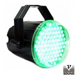 Estroboscópio c/ 74 Leds 10mm Verde Vsound