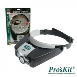Lupa de Cabeça c/ Iluminação LED Pro'sKit