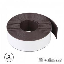Fita Adesiva Magnética 300 X 2.5cm